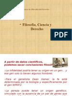 FILOSOFÍA DEL DERECHO - I