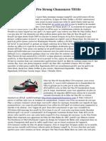 Acheter Air Jordan Pro Strong Chaussures TH18r