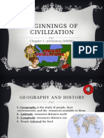beginings of civilization chapter 1