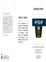 Pamphlet - Identity Theft
