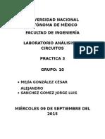 Practica 3 Analisis de Circuitos