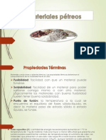Material petreos