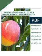 Manual de Arborização de Belém