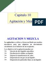 Agitación y Mezcla