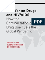 COMISSÃO GLOBAL DE POLÍTICAS SOBRE DROGAS. 2012. Relatório. the War on Drugs and HIV