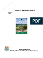Environment Annual Report 2014-15