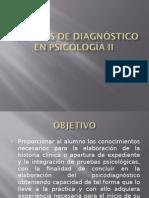 Técnicas de Diagnóstico en Psicología II