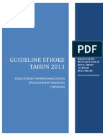 Guideline Stroke Perdosis