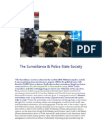 The Surveillance & Police State Society