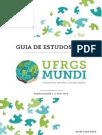 Guia de Estudos UFRGSMUNDI 2015