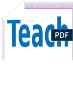 teacher sample design