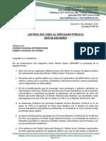 1-2015-PATRIA JUSTA-SIPROCNP-Ante El Ataque Mediático Contra El Sector Público