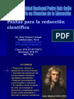 Redacción científica