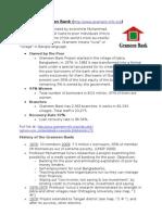 Grameen Bank (Http://Www.grameen-Info.org)