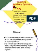 Preventing Shaken Baby Syndrome