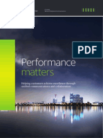 Unify Performance Matters Brochure | Call Centre | Computer