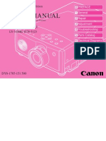 Canon lv5100 Projector Service manual