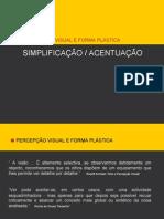 PercepÇÃo Visual e Forma PlÁstica