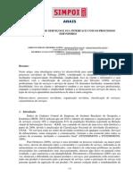 Classificação de Serviços e Sua Interface Com Os Processos Servidores