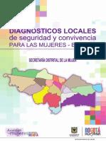 Diagnóstico seguridad de mujeres Antonio Nariño