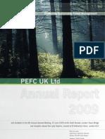 PEFC UK Annual Report 2009