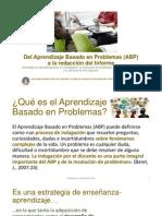Del ABP a La Redacción Del Informe