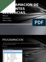 Programacion de Diferentes Secuencias