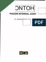 Contoh Piagam Internal Audit 2013