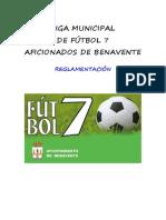 Reglamentación Liga Municipal de f 7 Aficionados de Benavente Temp 2013-2014 (1)