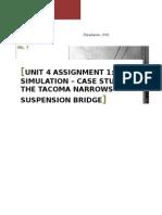 Unit 4 Assignment 1_Simulation_Case Study Rolls_Tacoma Narrows Bridge