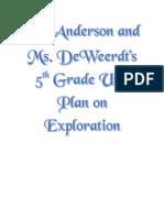Unit Plan for Portfolio