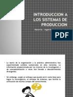Introduccion a Los Sistemas de Produccion