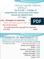 1.2 Strength of Materials