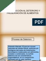 Preservaci+¦n y deterioro