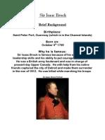 Sir Isaac Brock Essay