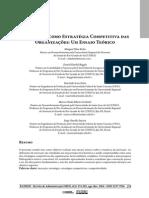 A Inovação como Estratégia Competitiva das Organizações