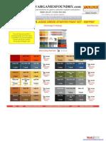 Wargames Foundry Judge Dredd Colour Range