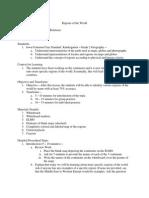 Human Development Lesson Plan