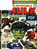 The Incredible Hulk Annual 5 Vol 1