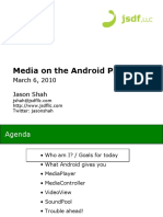 Media on the Android Platform