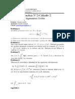 Practica             N°2 -Calculo 2