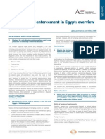 Litigation and Enforcement in Egypt