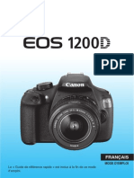 EOS 1200D Instruction Manual FR