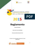Reglamento Jer 2015