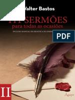 111 Sermoes Para Todasas Ocasioes - Walter Bastos - Vol 2