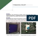 TV Philips Dica Ts04_007 Correção Do Horizontal
