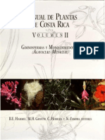 Manual de Plantas de CR Vol II