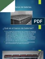 Banco de Baterias y sus partes