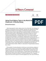 Using Food History Texts in the World History Classroom(Review Essay)