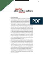 Eraso. Políticas Culturales. 2007